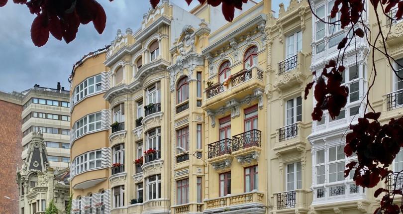 Calle Ferrol, 20 años memorables de la arquitectura coruñesa.